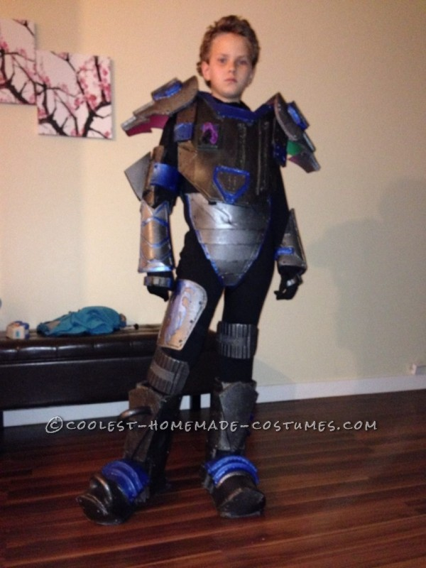 Cyborg Halloween Costume for 11 Year Old Boy