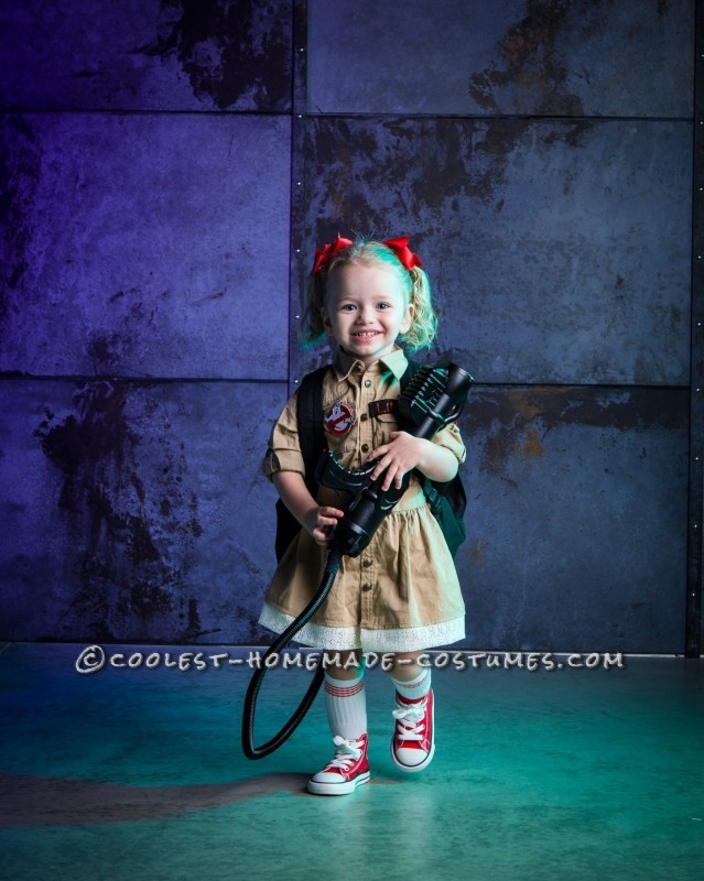 Cute Girly Ghostbuster
