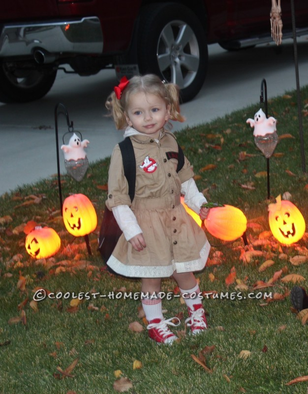 Cute Toddler Ghost Buster Costume