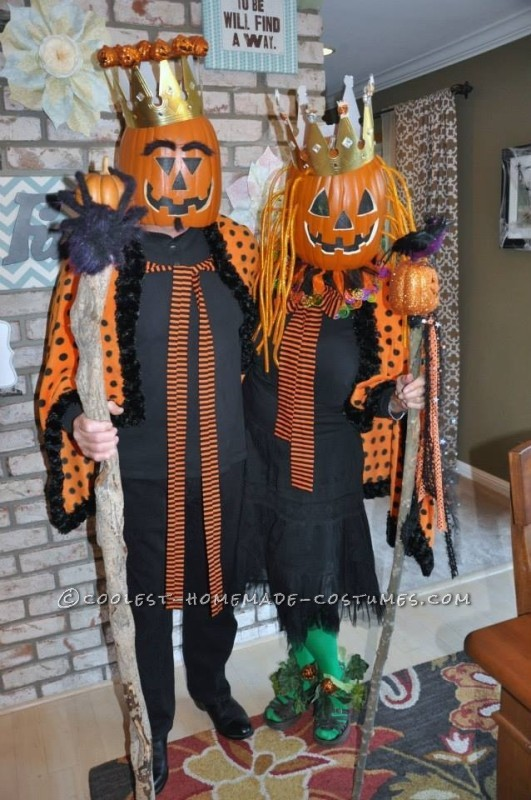 2013 Pumpkin King and Queen Couple Costume
