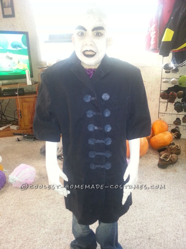 Nosferatu: Scary Homemade 6 Year Old Vampire Costume - 1
