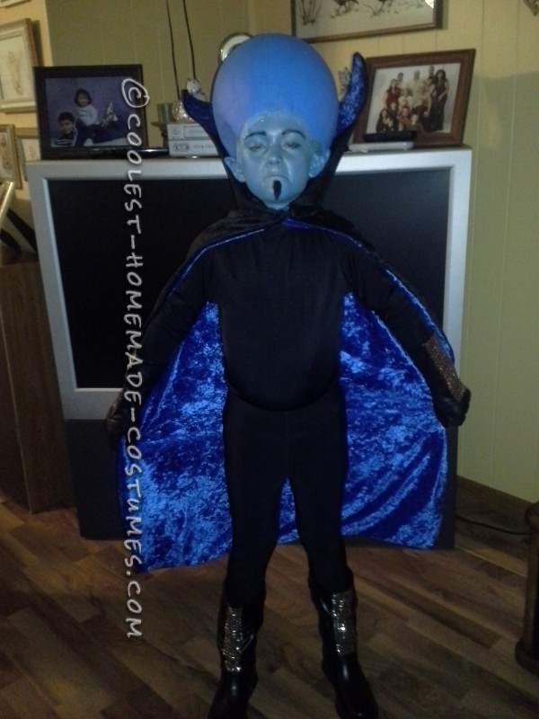 Coolest Homemade Mega Mind Costume