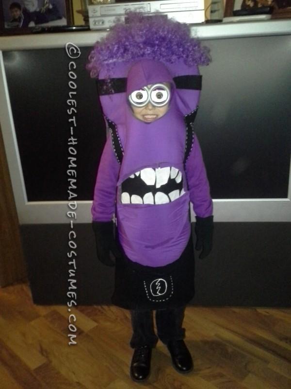 Coolest Purple Minion Homemade Costume