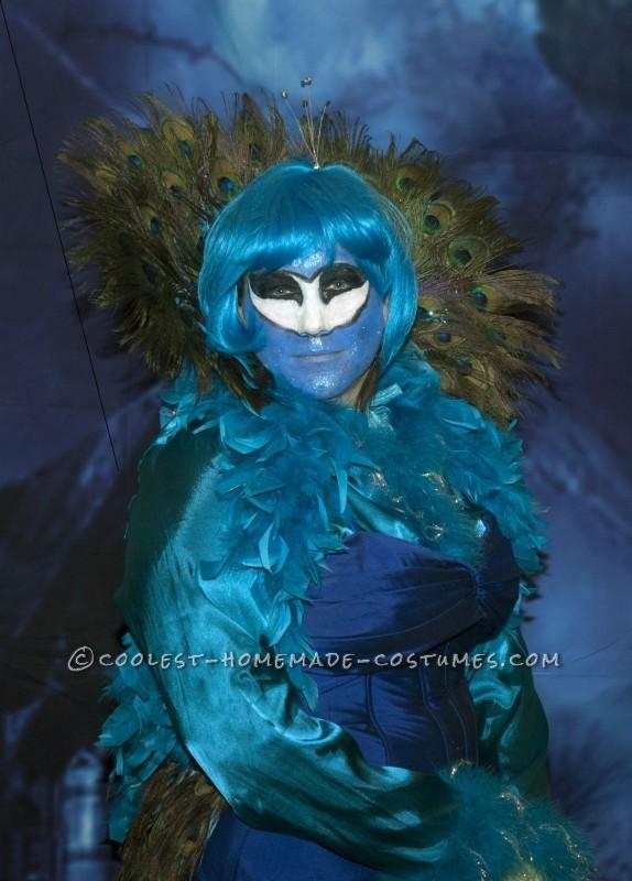 Elegant Madam Peacock Costume - 2
