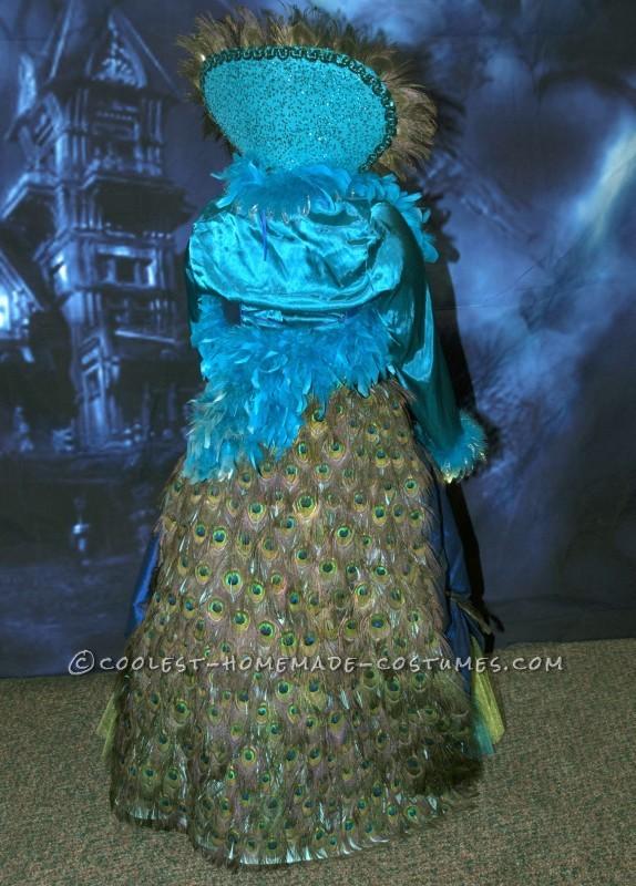 Elegant Madam Peacock Costume - 1