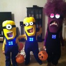 Three-of-a-Kind Minion Siblings Halloween Costumes