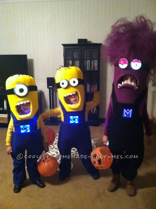 3 of a Kind Minion Siblings