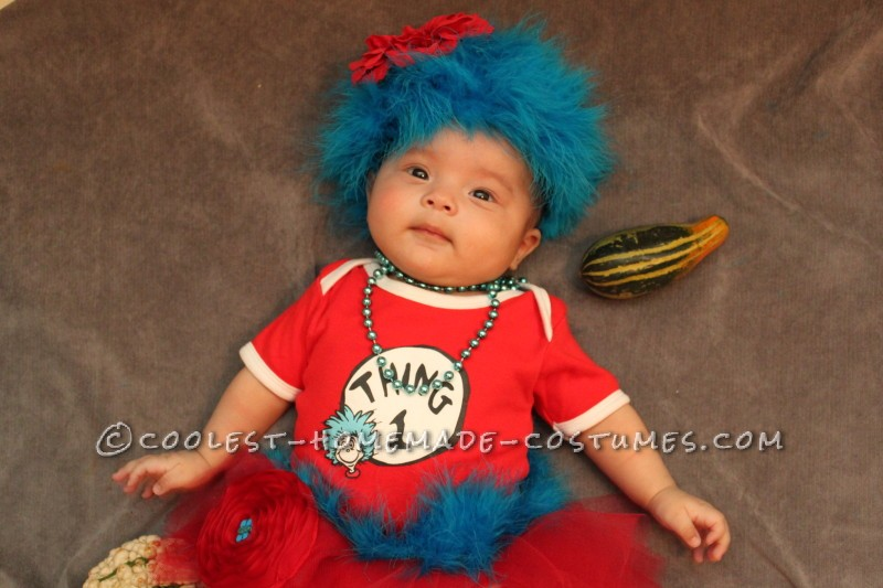 Jacqueline as Thing 1