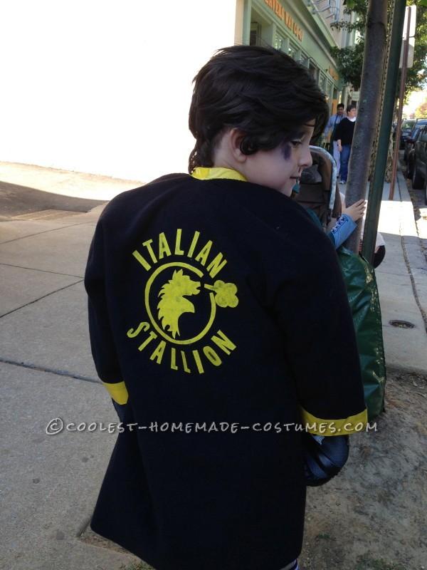 Child's Rocky Balboa Costume - 2