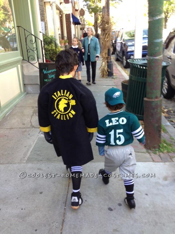 Child's Rocky Balboa Costume - 4