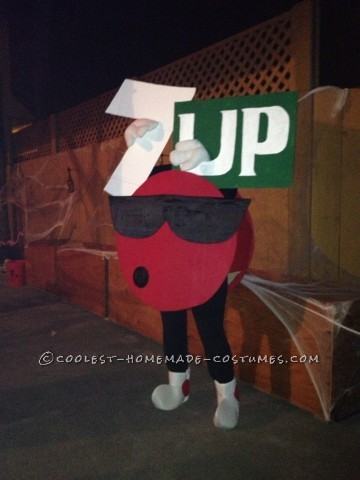 Coolest 7-Up Cool Spot Costume