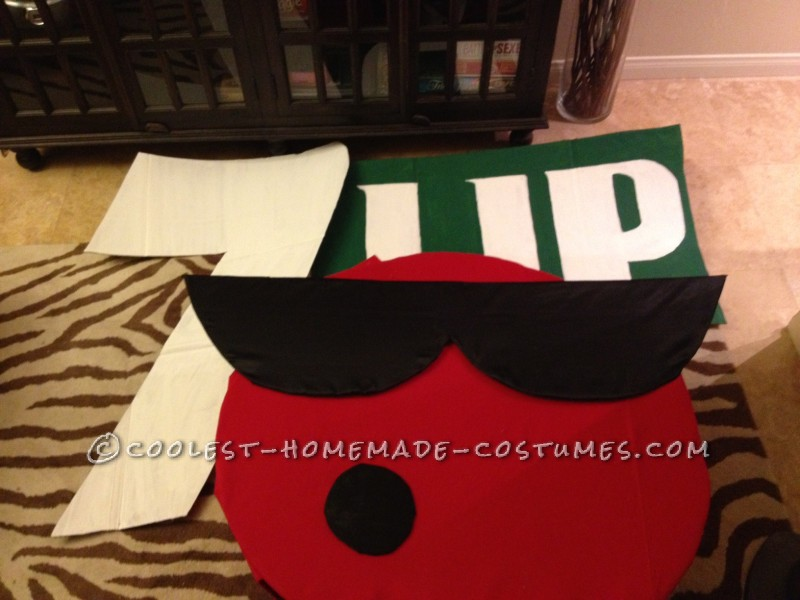 Sunglasses & Mouth & 7-Up Sign & Gloves & Boots & Front