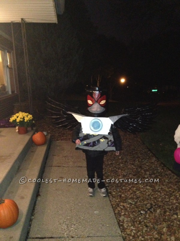 Cool Homemade Razcal Costume from Chima Legos - 1