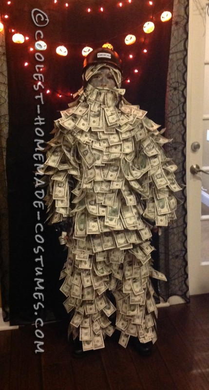 Coolest Homemade Geico Money [Wo]Man Costume