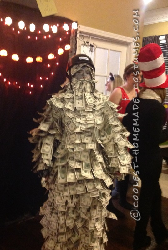 Coolest Homemade Geico Money [Wo]Man Costume - 2