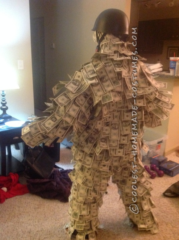 Coolest Homemade Geico Money [Wo]Man Costume - 3