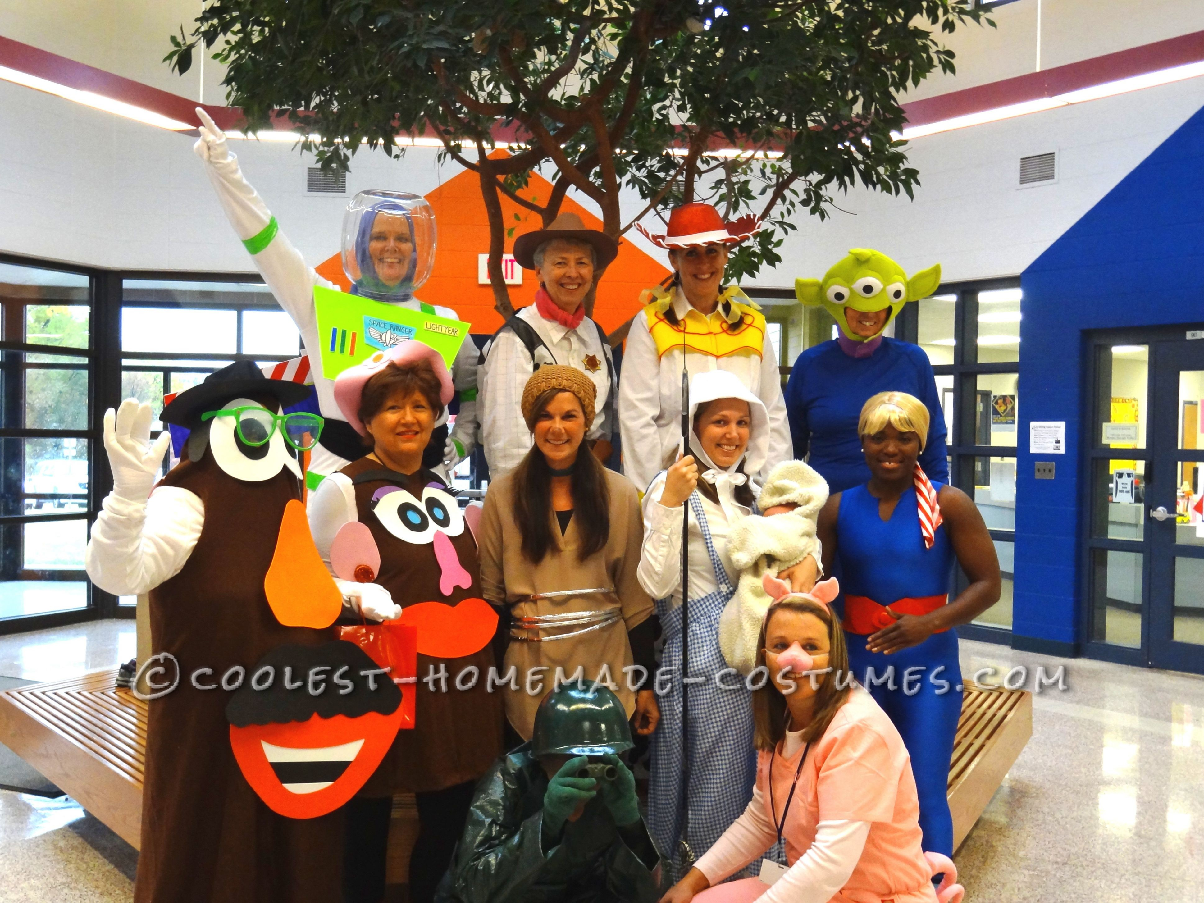 Group Toy Story Halloween Costumes
