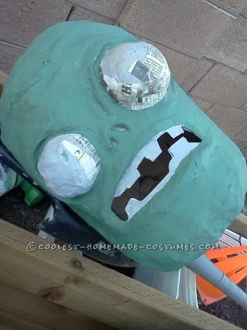 Coolest Homemade Plants Vs. Zombies Costume