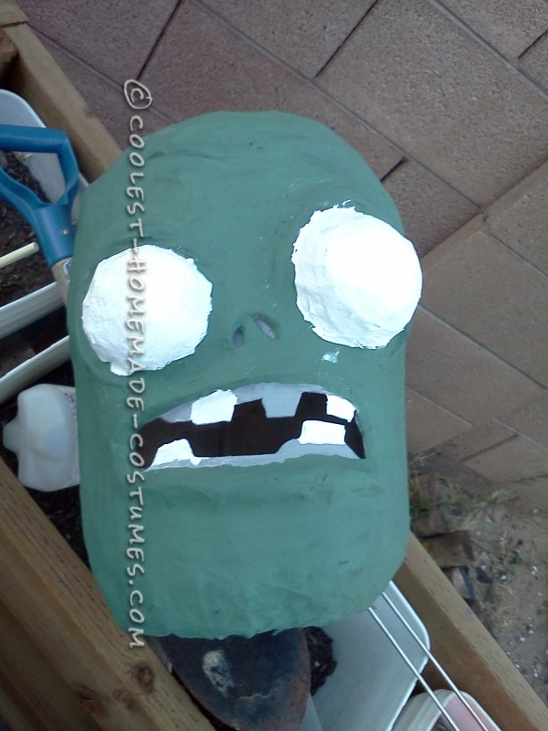 Coolest Homemade Plants Vs. Zombies Costume - 11