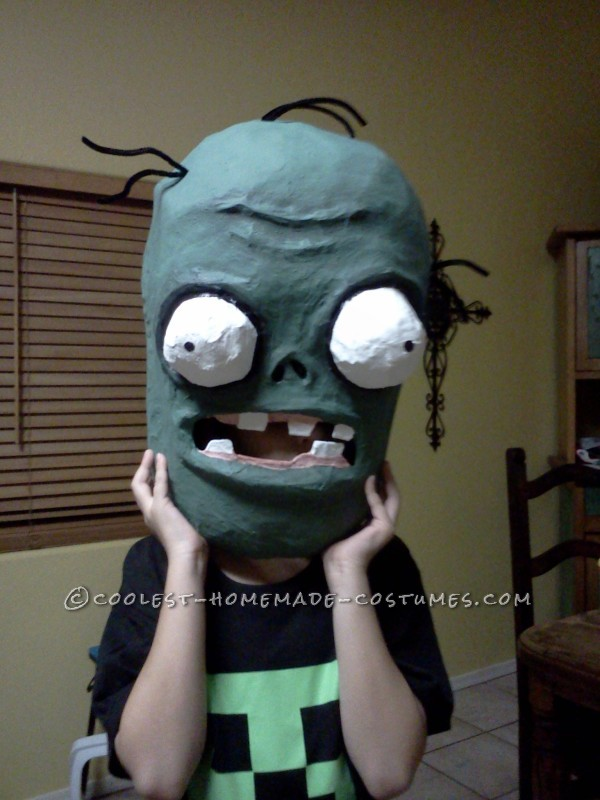 Coolest Homemade Plants Vs. Zombies Costume - 12