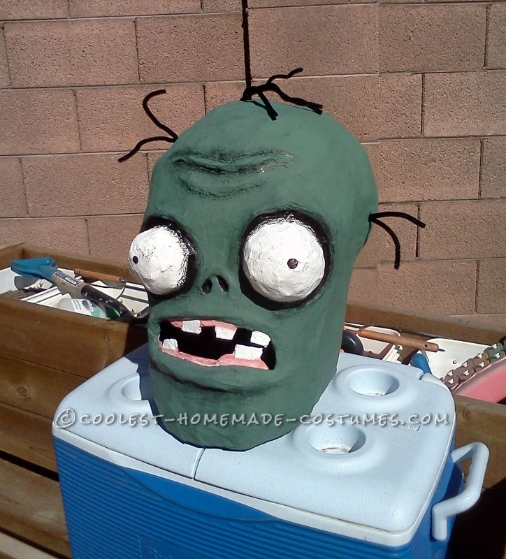 Coolest Homemade Plants Vs. Zombies Costume - 13