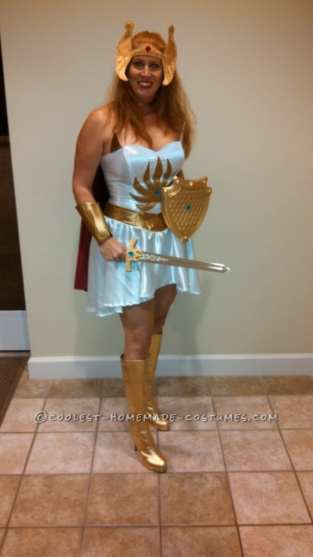 comic con worthy she ra costume with sound effects!