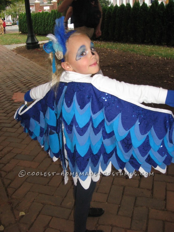 Little Chicken and Blue Bird Costumes for Brother and Sister - 1