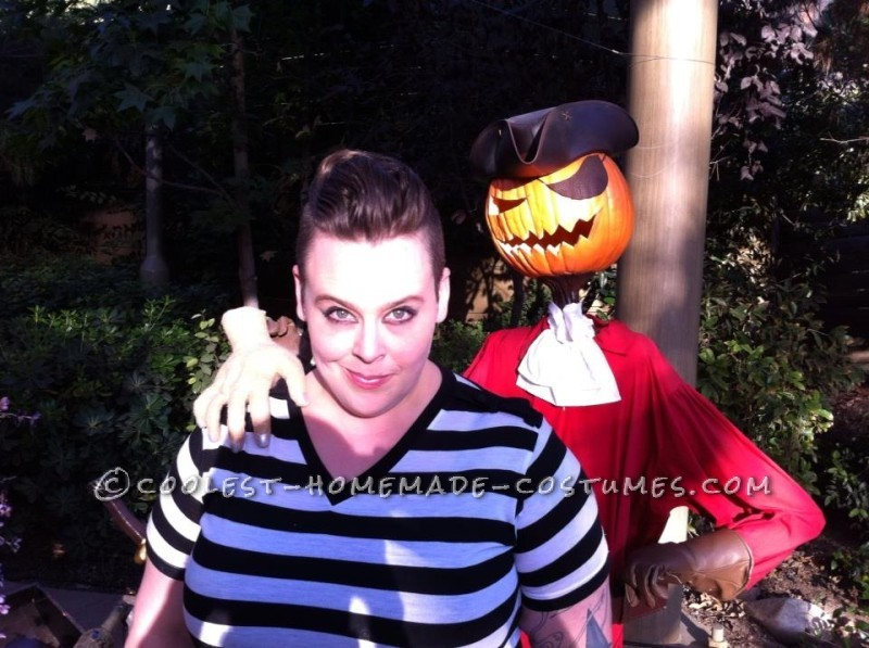 Gender-Swapped Wednesday and Pugsley Addams Couple Costume - 1