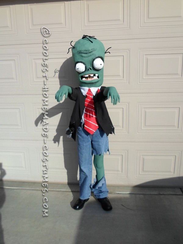 Coolest Homemade Plants Vs. Zombies Costume - 1