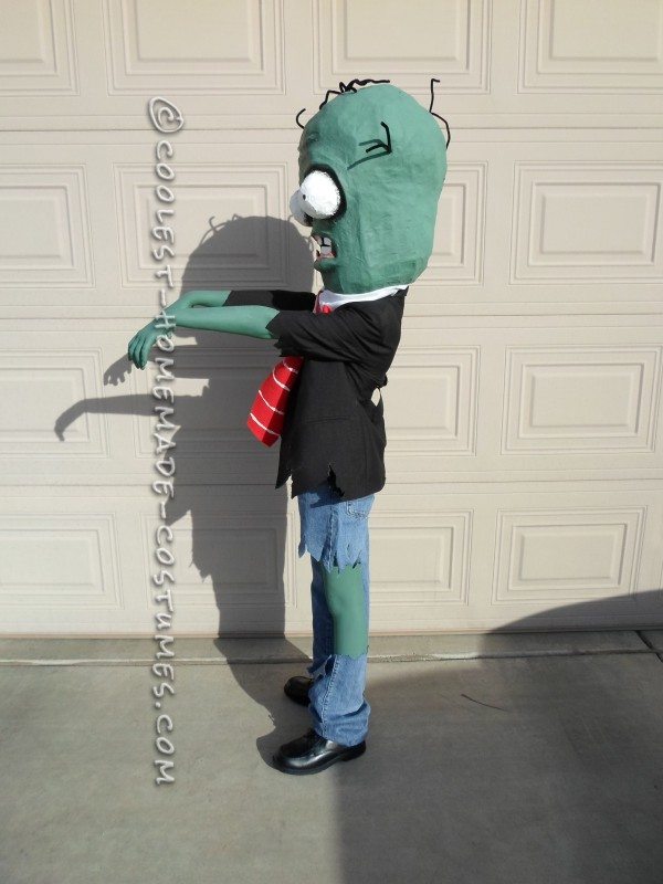 Coolest Homemade Plants Vs. Zombies Costume - 2