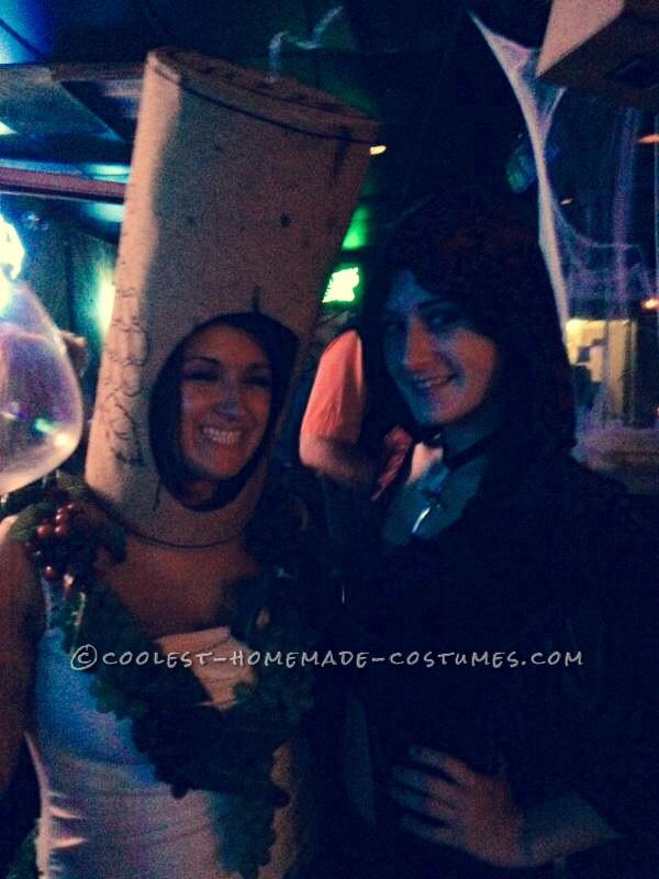 Funny SNL (Lady Gaga) Liquorville Wine Costume - 2