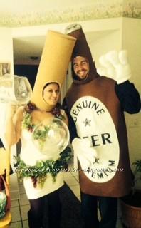 Funny SNL (Lady Gaga) Liquorville Wine Costume