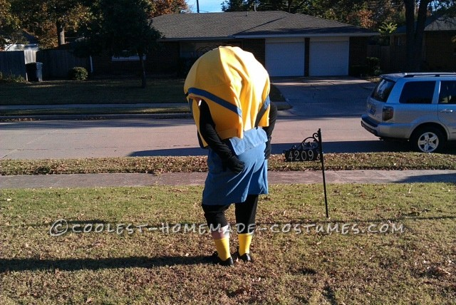 Cool Minion Costume for Grandma