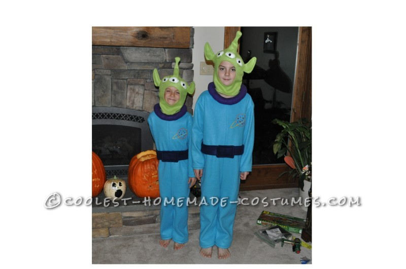 Toy Story Aliens 2010