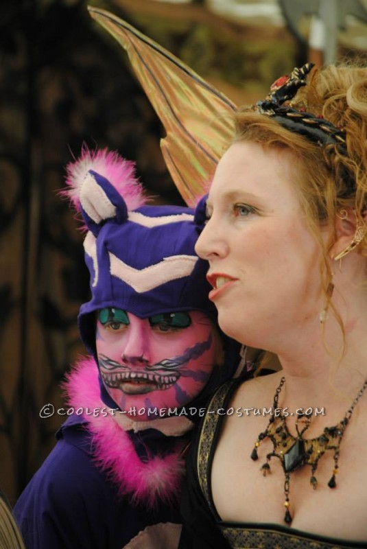 A Different Kind of Homemade Cheshire Cat Costume