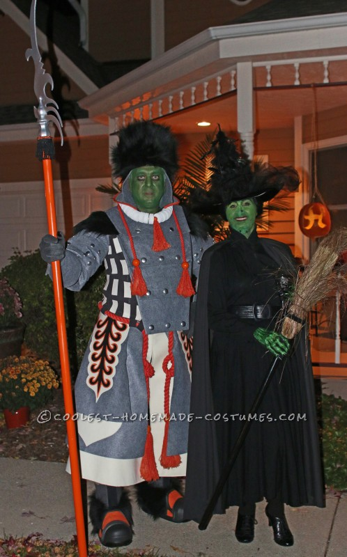 Ambitious Homemade Winkie Costume - The Witch's Guard from Wizard of Oz