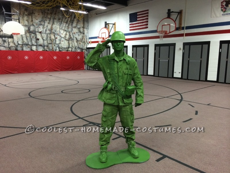 DIY Halloween Costume Idea: A Plastic Toy Soldier Comes to Life! - 1