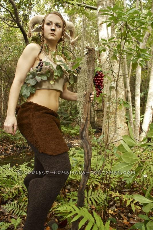 Beautiful Homemade Satyr Costume - 3