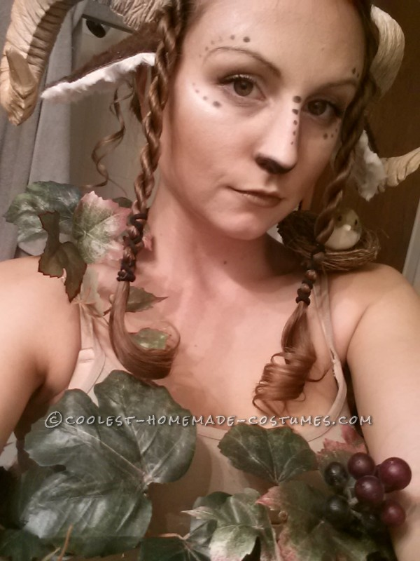 Beautiful Homemade Satyr Costume - 6