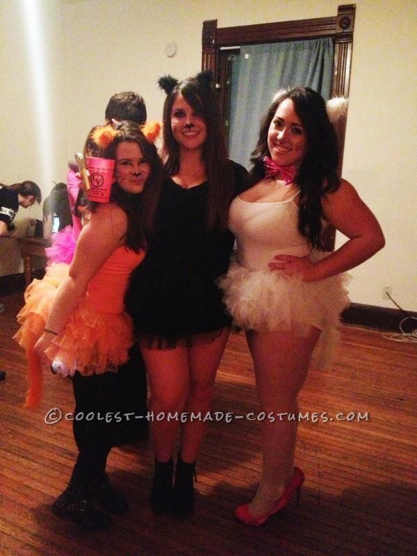 Adolescent Aristocats Girl Group Costume