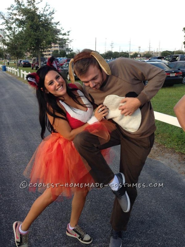 Adorable Couples Costume: The Fox and the Hound