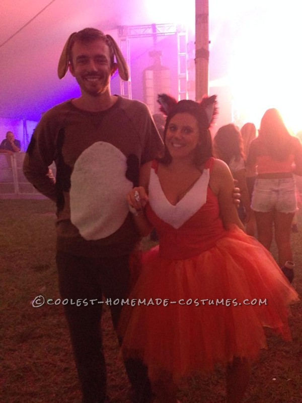 Adorable Couples Costume: The Fox and the Hound - 2