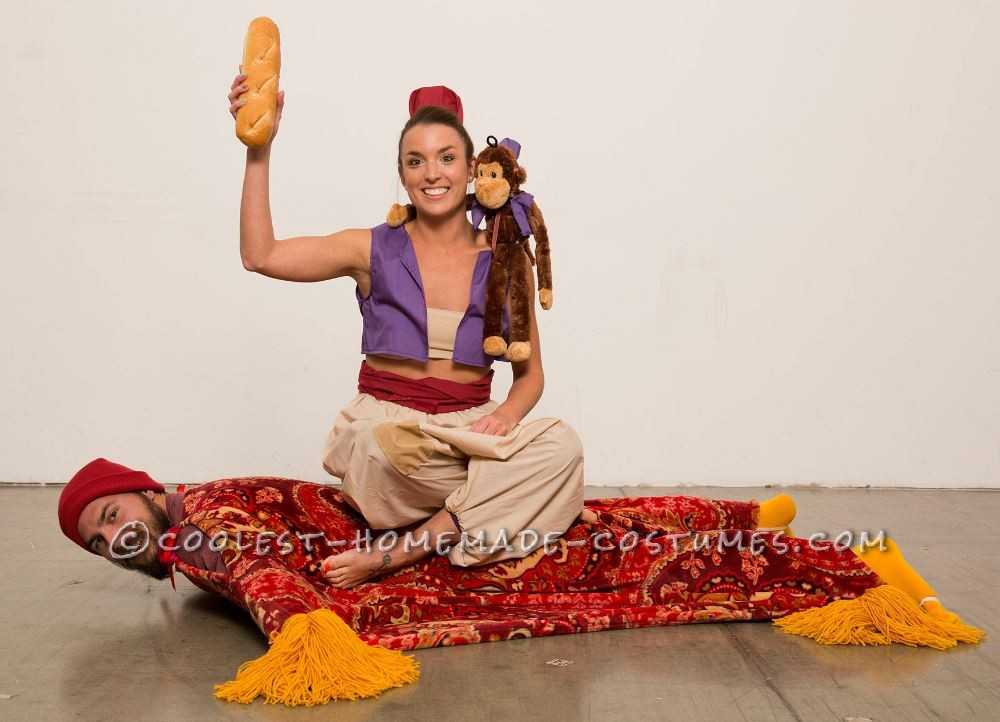 Every Aladdin Needs a Carpet Couple Halloween Costume