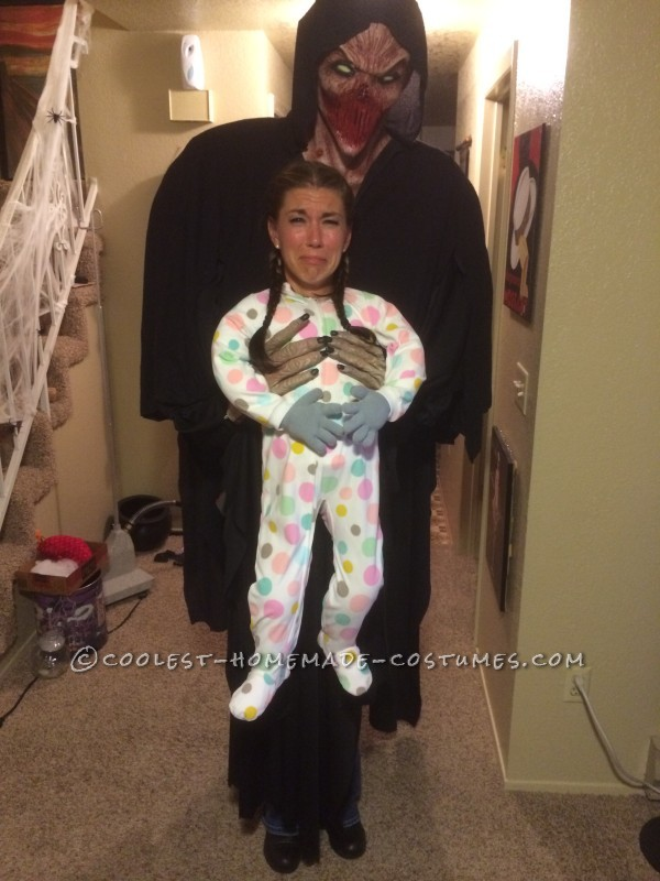 Cool Alien Abduction Illusion Halloween Costume
