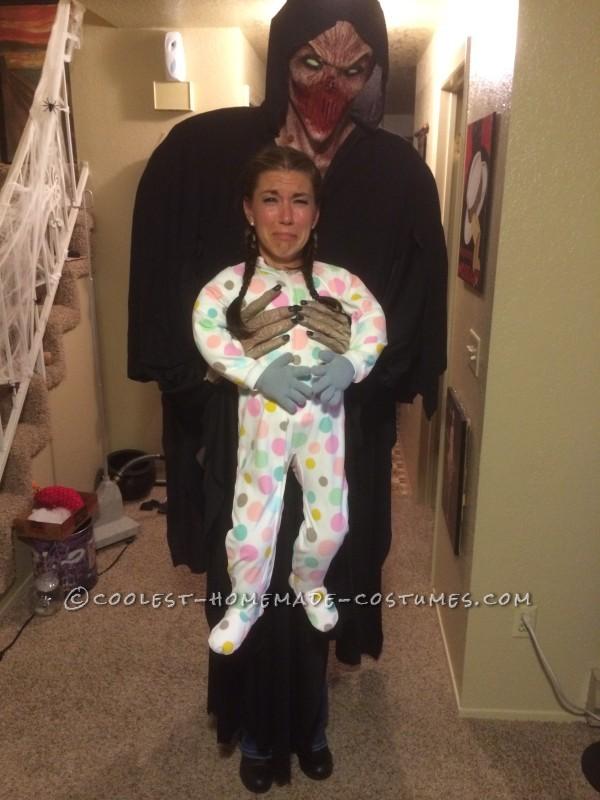 Cool Alien Abduction Illusion Halloween Costume