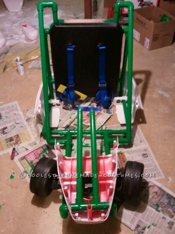 Adding kart body pieces