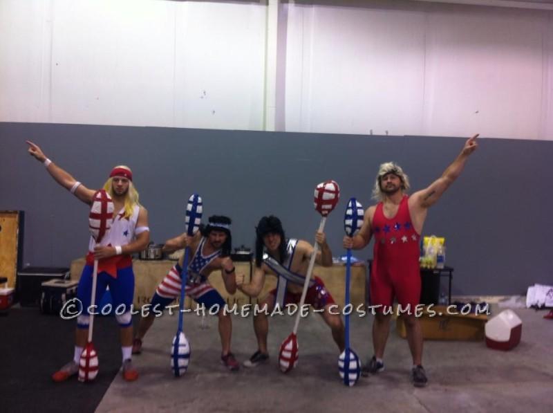 Coolest American Gladiators Group Halloween Costume
