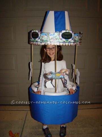 Cool Amusement Park Carousel Costume for a Girl