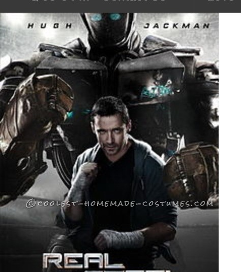 Cool Homemade Boy's Costume: Atom from Real Steel - 7