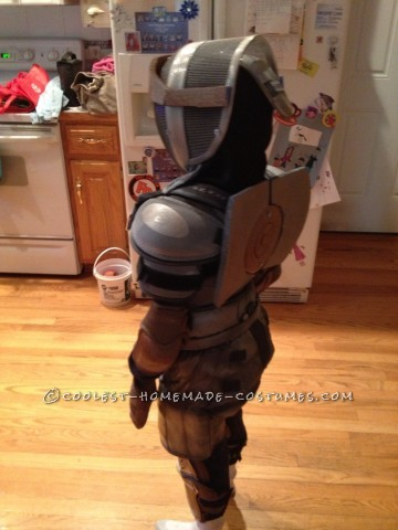 Cool Homemade Boy's Costume: Atom from Real Steel